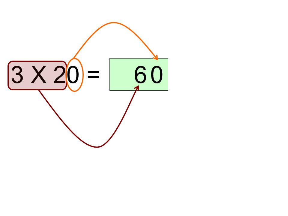 20 x 5 = 010