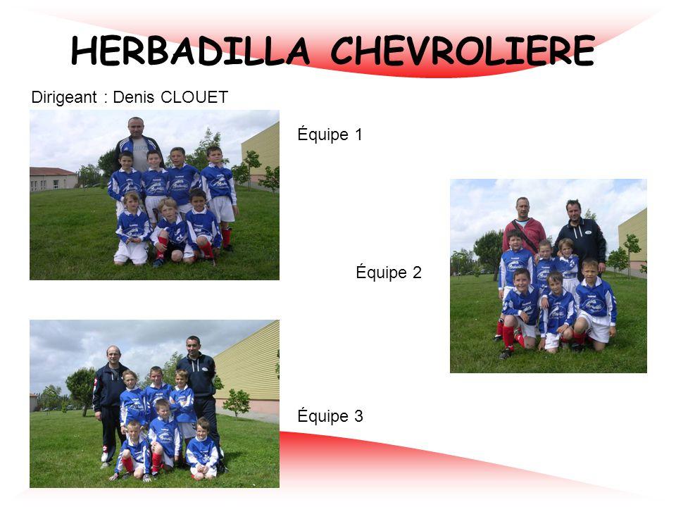 ALC BOUGUENAIS Dirigeants : Johan RAZE / Denis GLUMINEAU Équipe 1 Équipe 2