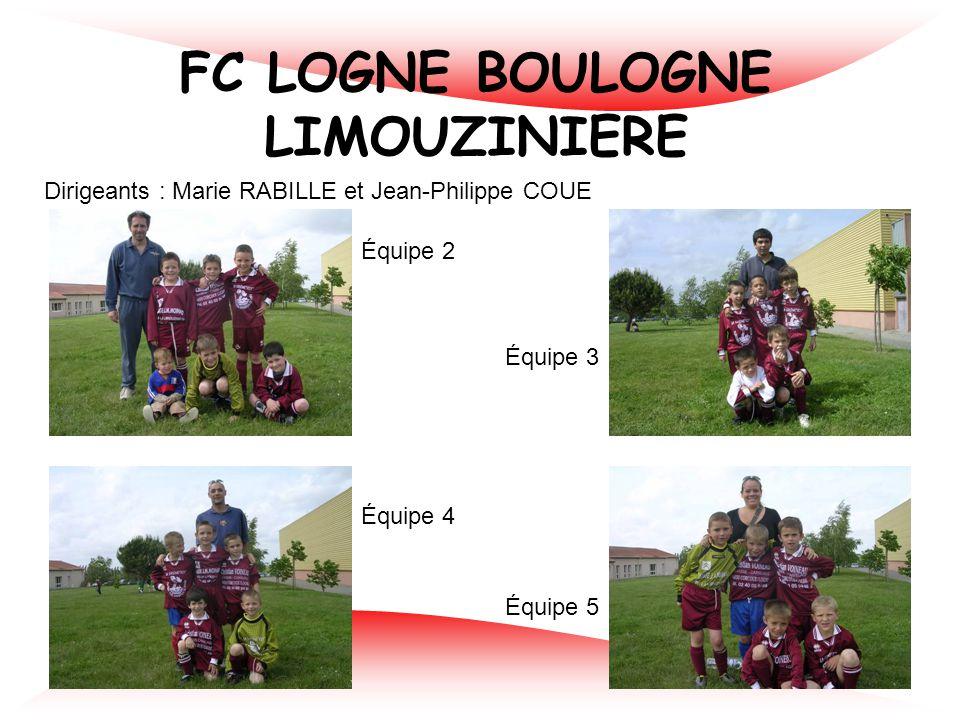 LEGE F.C. Dirigeants : Eric BALLAUD et Christophe GUILLOTEAU Équipe 1 Équipe 2 Équipe 3 Équipe 4