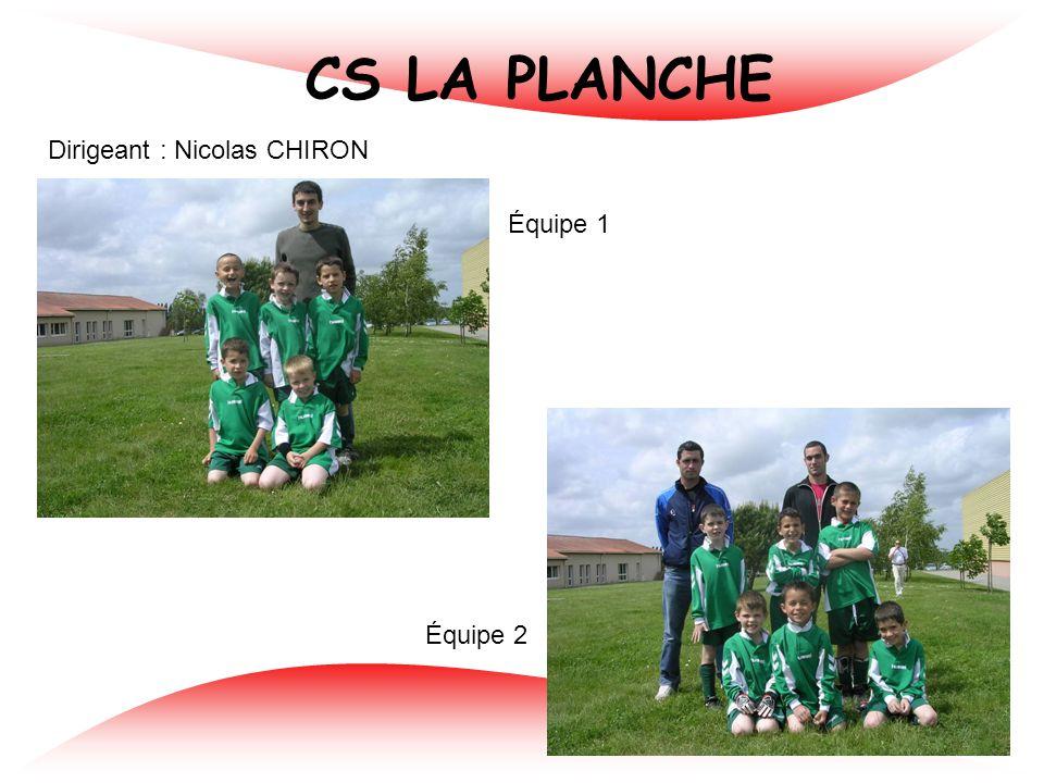FC PAULX Dirigeants : Sébastien MOINARD et Patrice MUSSEAU Équipe 1 Équipe 2 Équipe 3