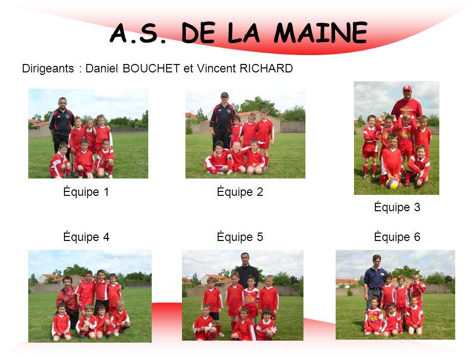 ESPOIR VIEILLEVIGNE Dirigeants : Anthony PICOT et Mickaël LIEGEARD Équipe 1 Équipe 2 Équipe 3 Équipe 4