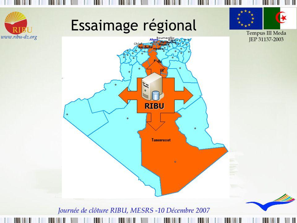 Essaimage régional RIBU