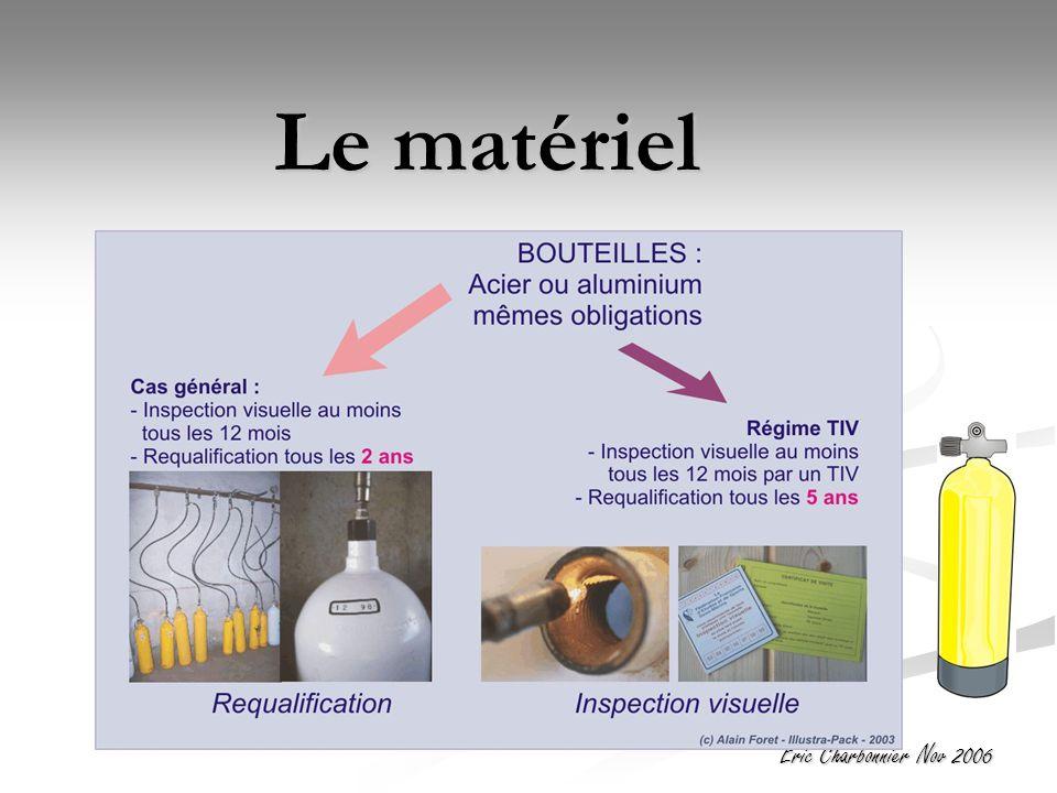 Eric Charbonnier Nov 2006 Le matériel