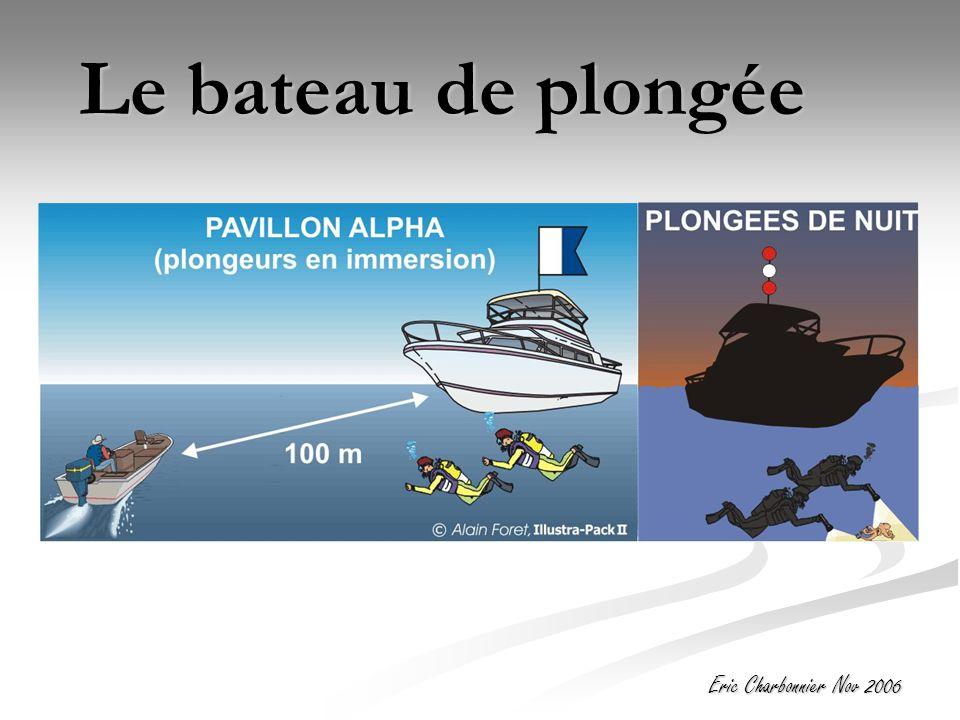 Eric Charbonnier Nov 2006 Le bateau de plongée