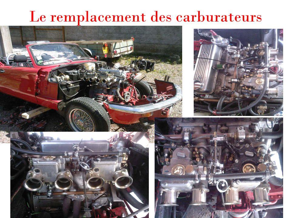 Le remplacement des carburateurs