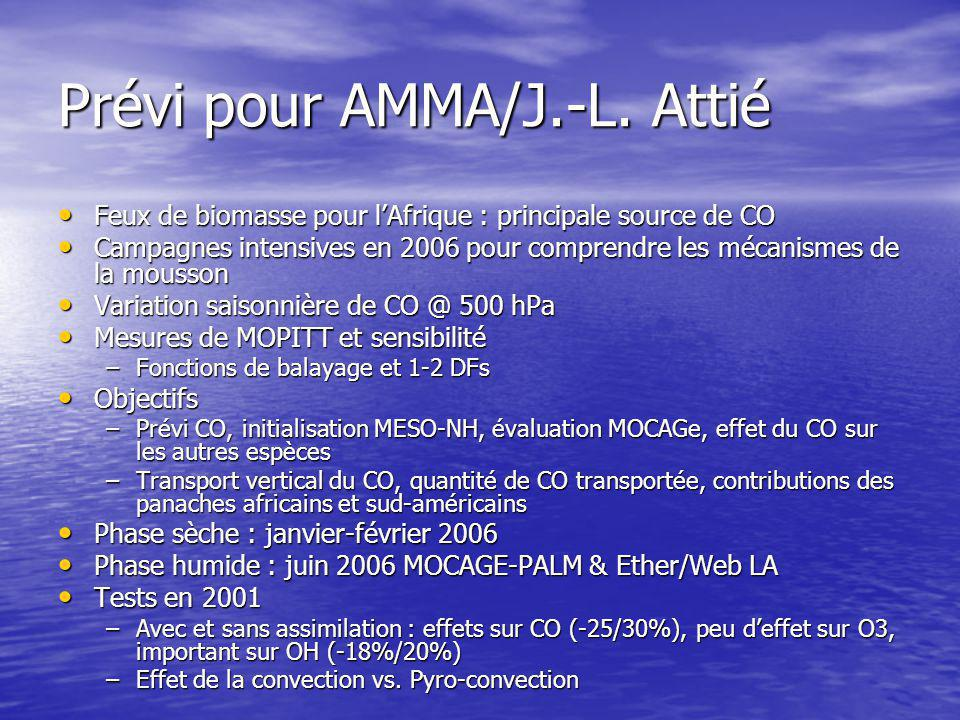 Prévi pour AMMA/J.-L.