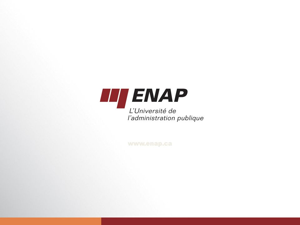 28 www.enap.ca
