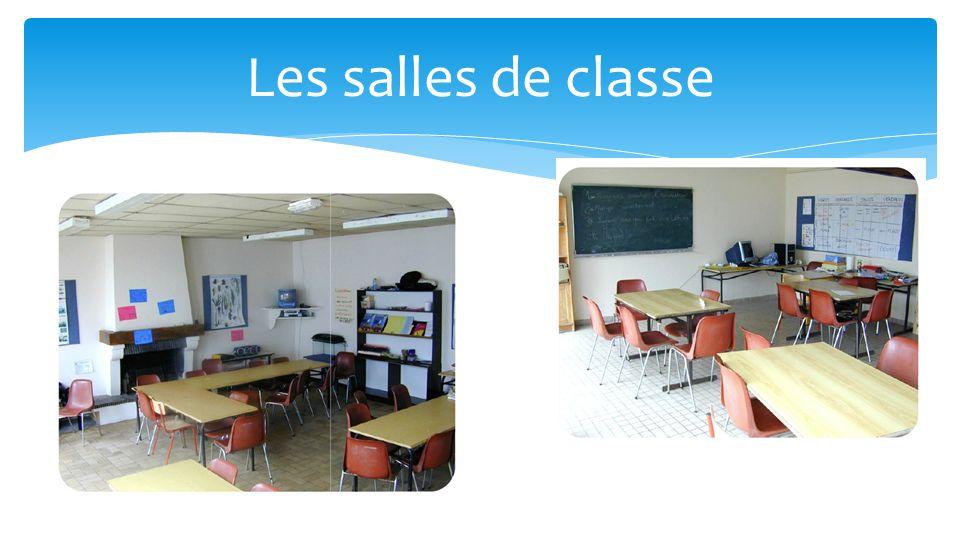 Les salles de classe