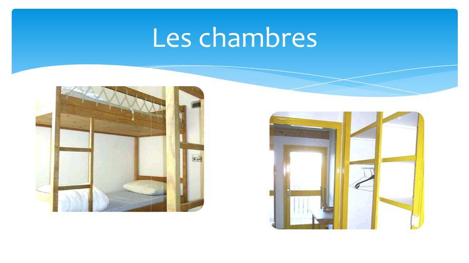 Plan Lits superposés en chambre de 4 ou de 6 lits