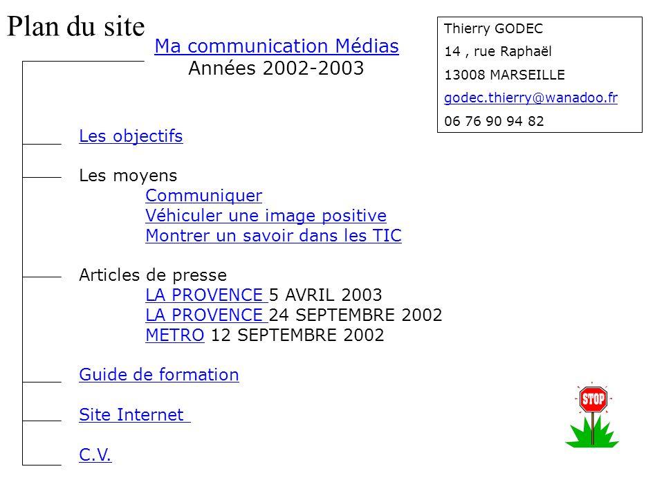 Ma communication Médias Ma communication Médias Années 2002-2003 Les objectifs Les moyens Communiquer Véhiculer une image positive Montrer un savoir d