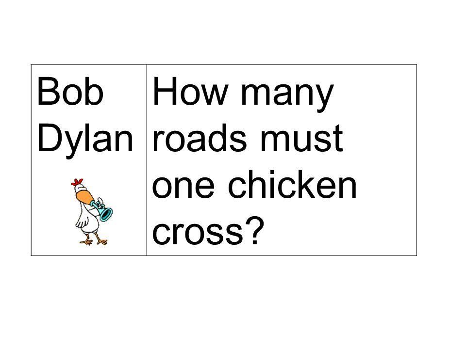 BILL GATES Nous venons justement de mettre au point le nouveau « Chicken Office 2003 », qui ne se contentera pas seulement de traverser les routes, ma