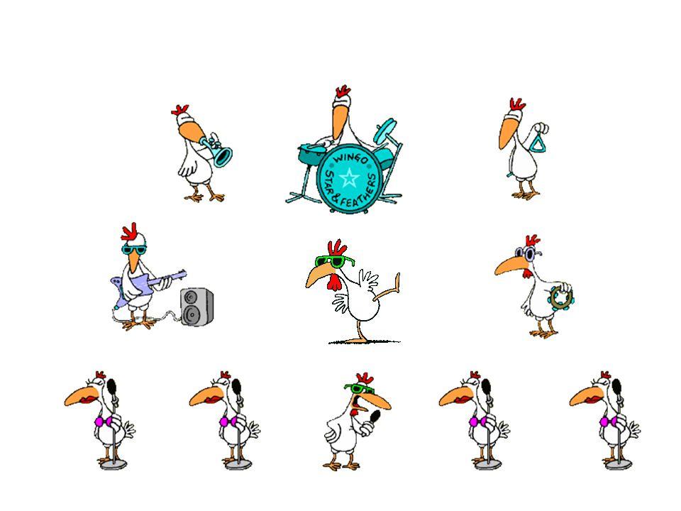 BILL GATES Nous venons justement de mettre au point le nouveau « Chicken Office 2003 », qui ne se contentera pas seulement de traverser les routes, mais couvera aussi les oeufs, dessinera les plans du nid, etc.