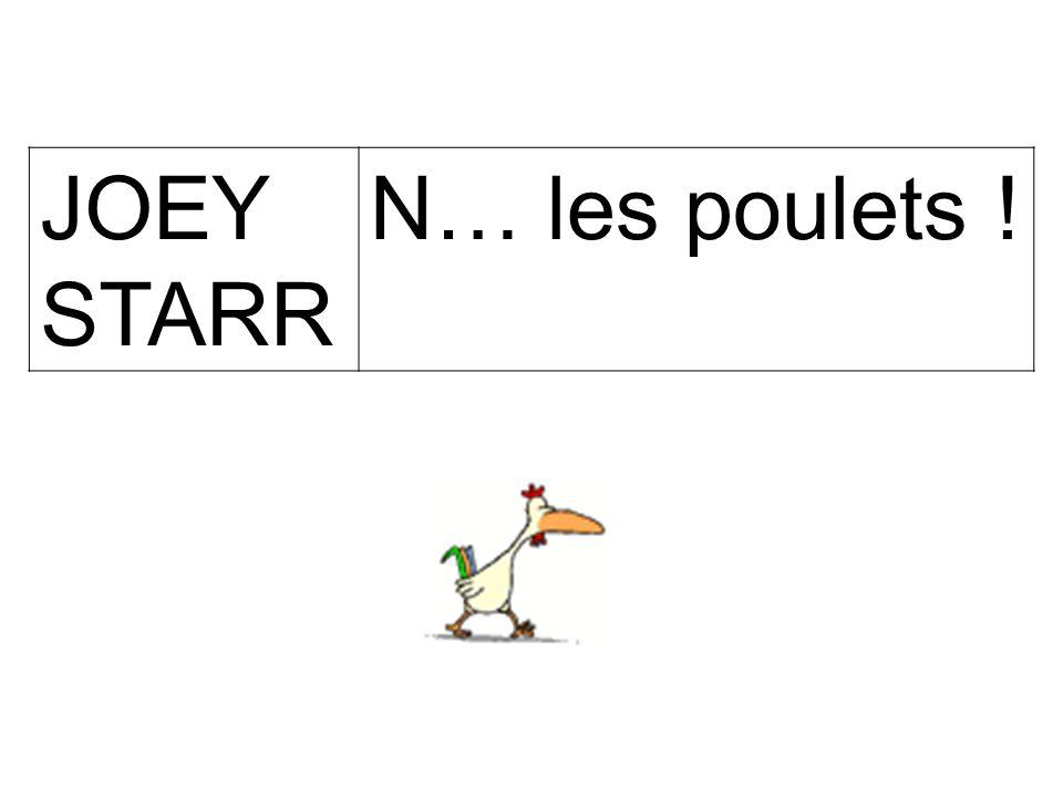 Jean- Pierre Coffe Si ce n'est pas un poulet de Bresse, elle n'a aucune chance, ta poule...