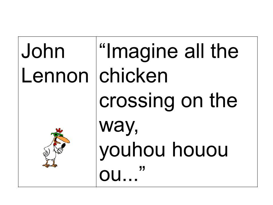 JOEY STARR N… les poulets !
