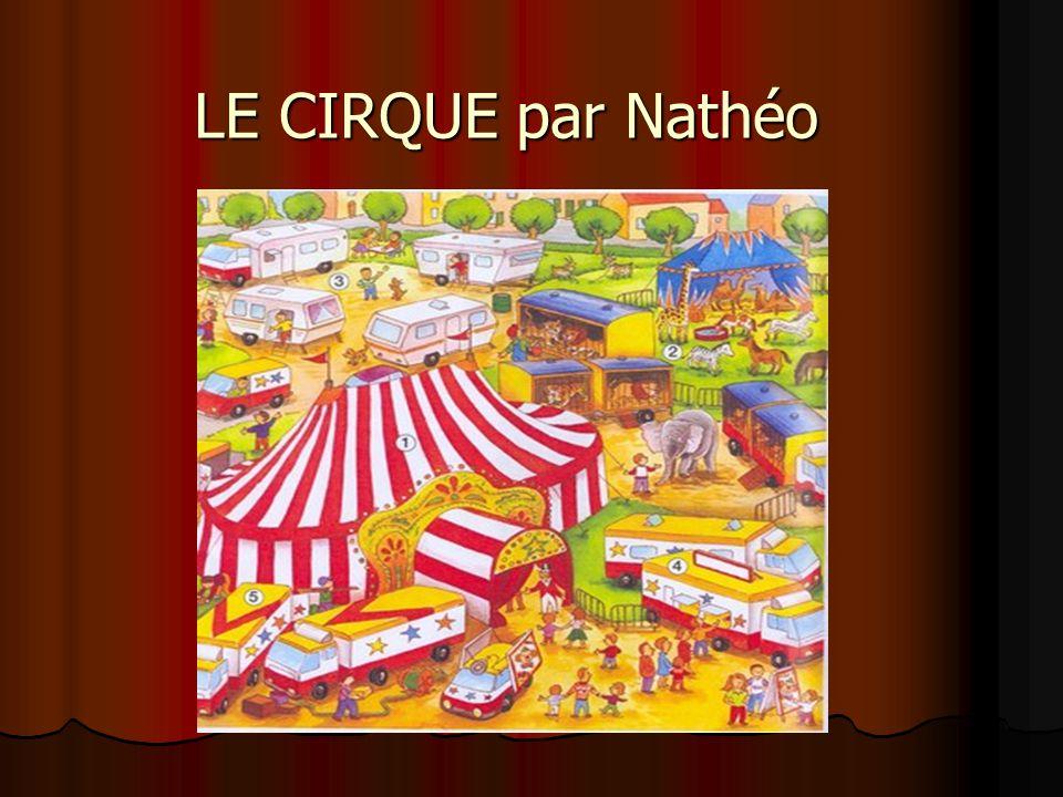LE CIRQUE par Nathéo