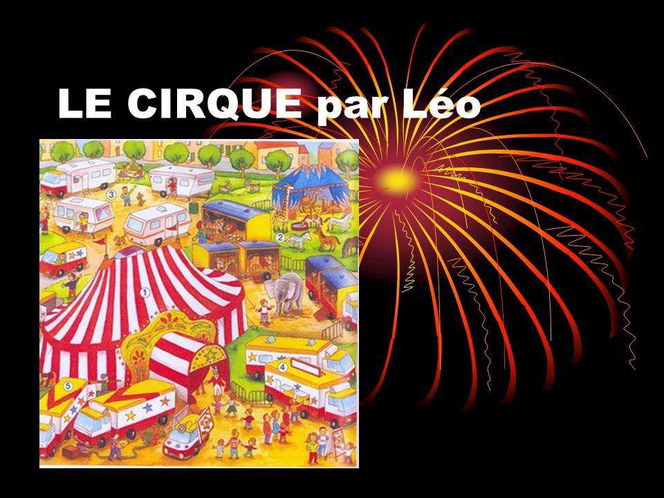LE CIRQUE par Léo