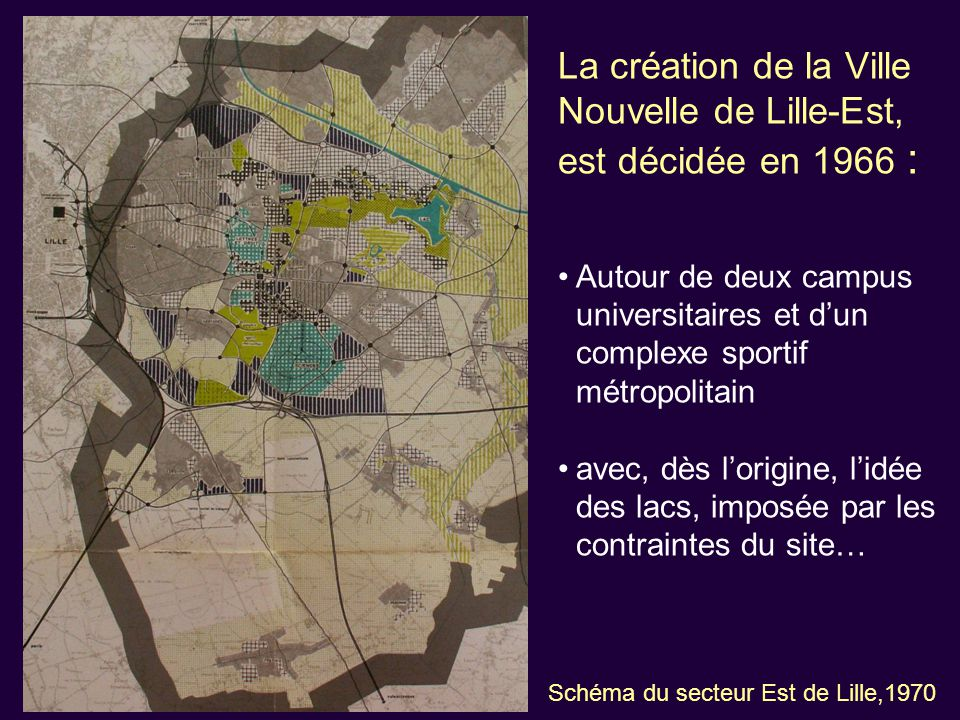 Parc Urbain : 1974 / 1976 : creusement 1979 : campagne de plantation du parc 1981 / 1982 : plantation des collines des Marchenelles (120 000 plants) 1995 : 73 ha classés en réserve naturelle volontaire 2002 : reprise de la gestion par l'Espace Naturel Lille Métropole (ENLM)