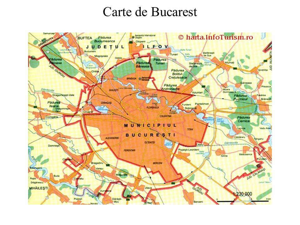 Carte de Bucarest