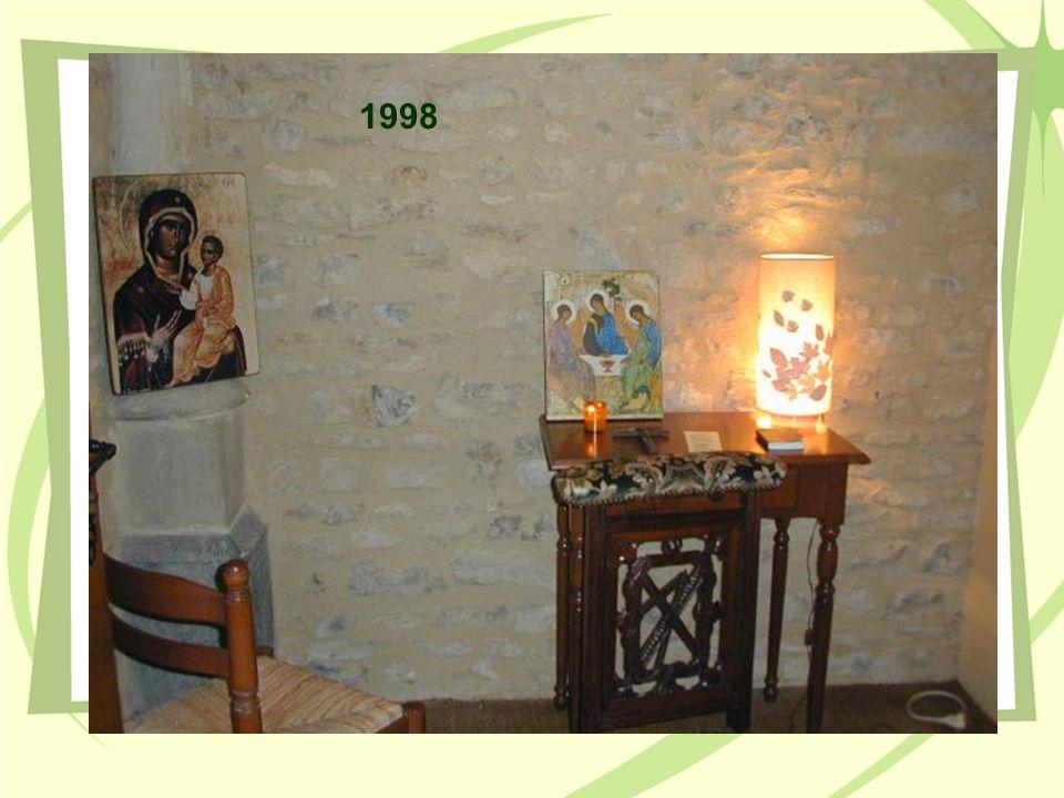 Remplacement des chaises en 1997