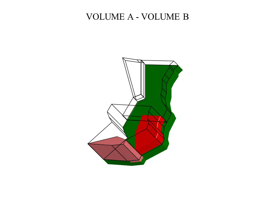 VOLUME A - VOLUME B