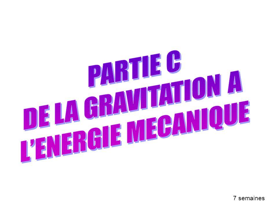 PARTIE A : LA CHIMIE, SCIENCE DE LA TRANSFORMATION DE LA MATIERE 7 semaines