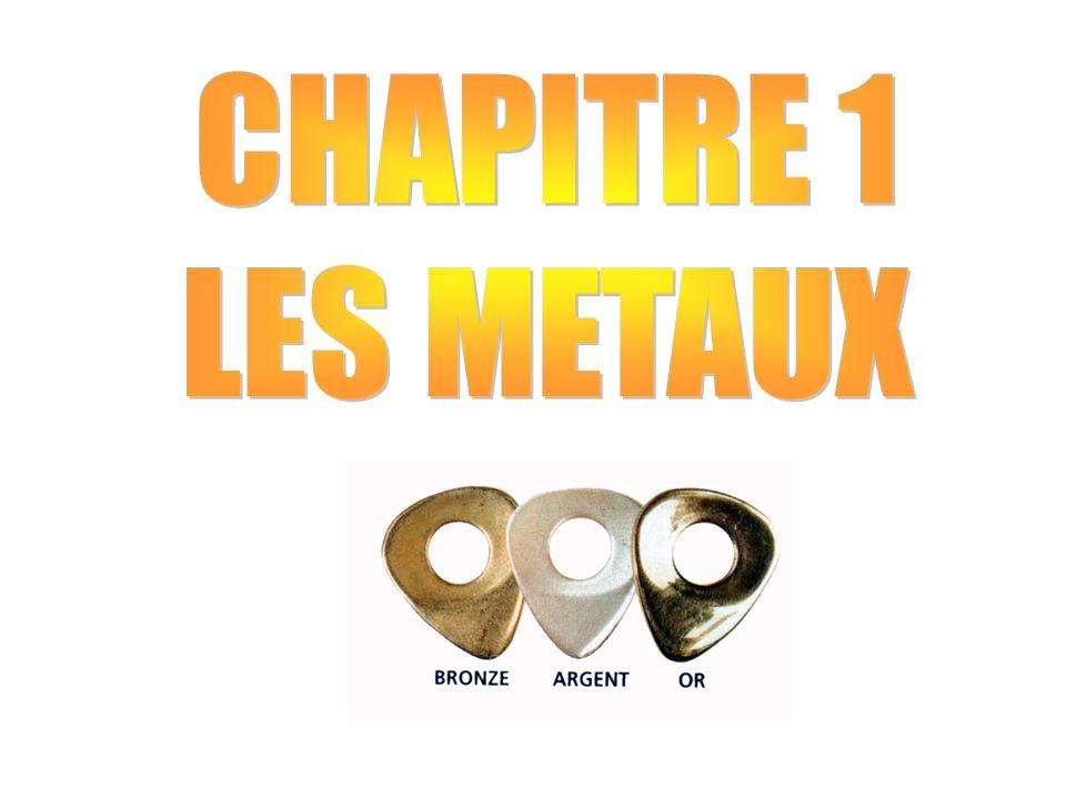 CHAPITRE 1 : LES METAUX