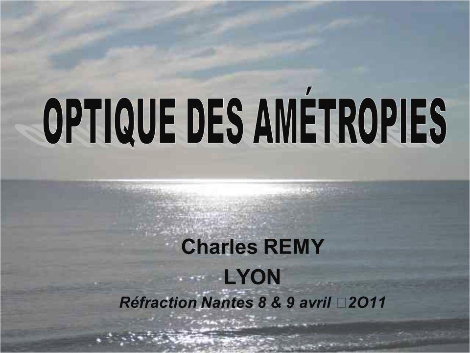 Charles REMY LYON Réfraction Nantes 8 & 9 avril 2O11