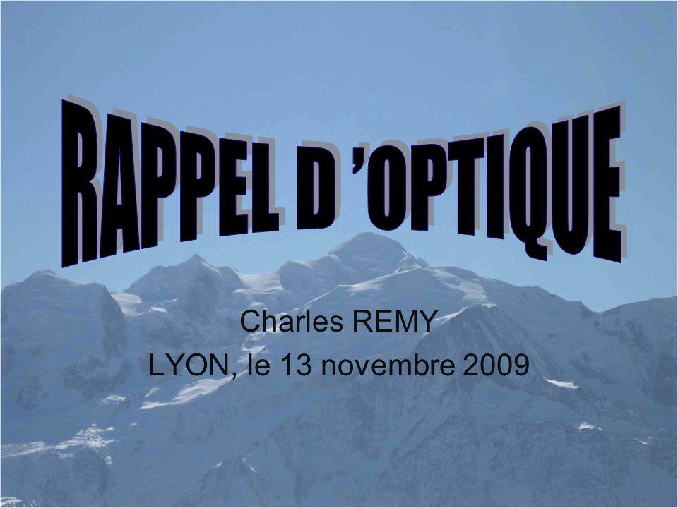 Charles REMY LYON, le 13 novembre 2009