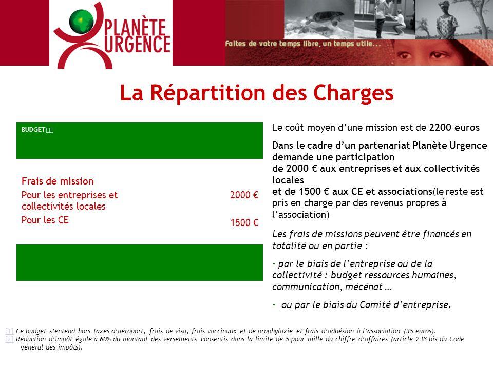 [1][1] Ce budget s'entend hors taxes d'aéroport, frais de visa, frais vaccinaux et de prophylaxie et frais d'adhésion à l'association (35 euros). [2][