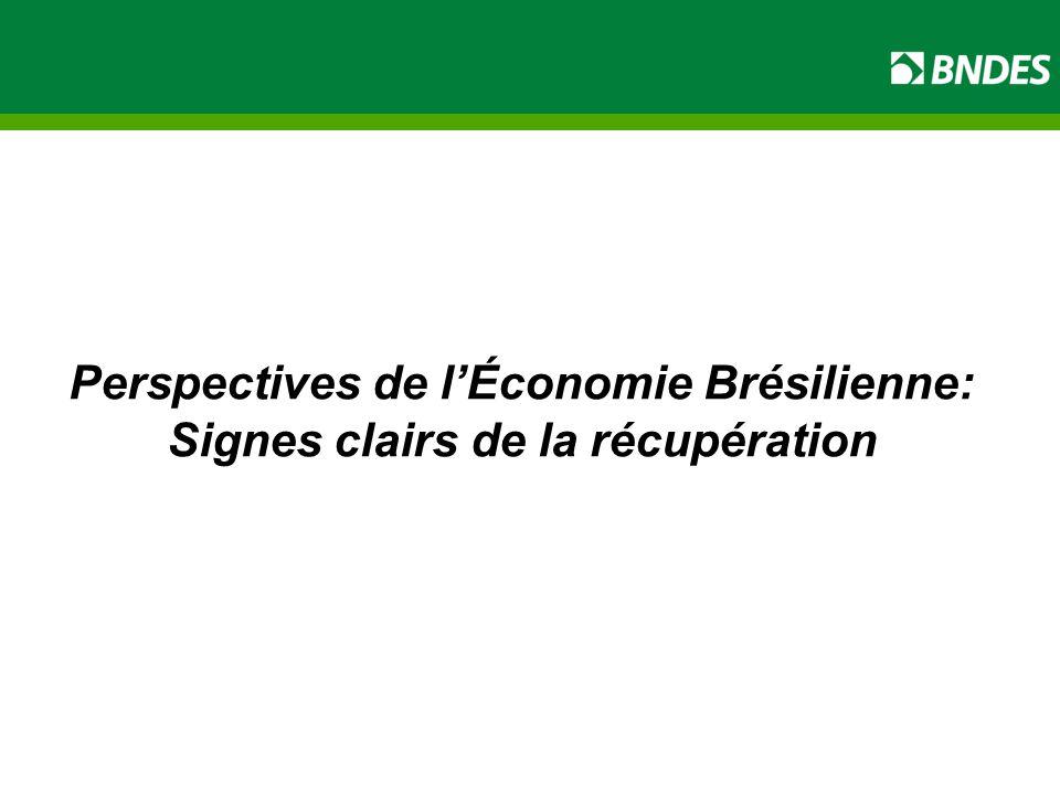 Perspectives de l'Économie Brésilienne: Signes clairs de la récupération