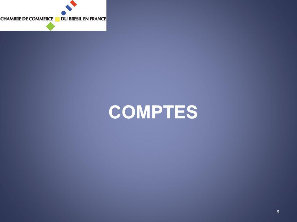 9 COMPTES