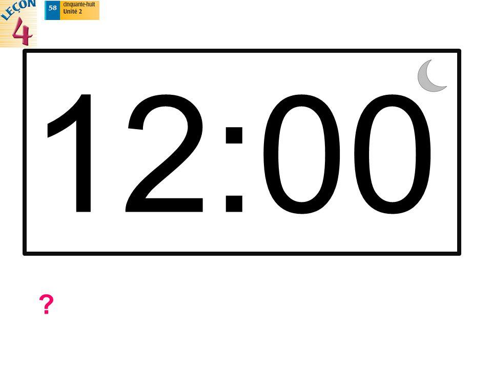 12:00 ?