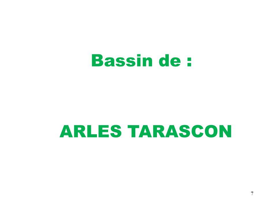 7 Bassin de : ARLES TARASCON