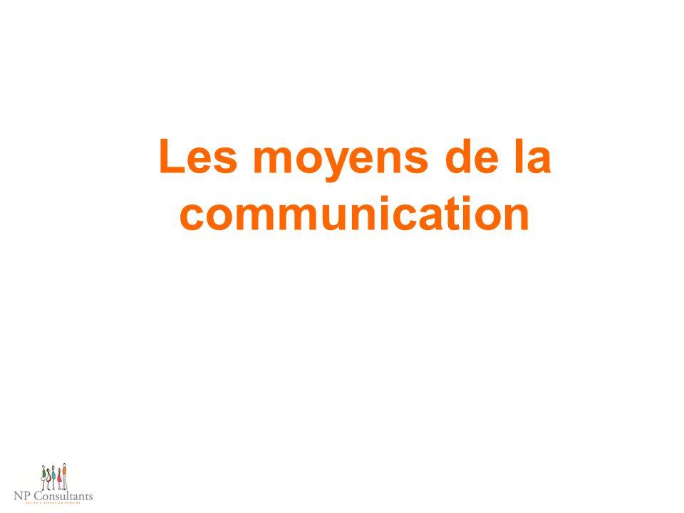 Les moyens de la communication