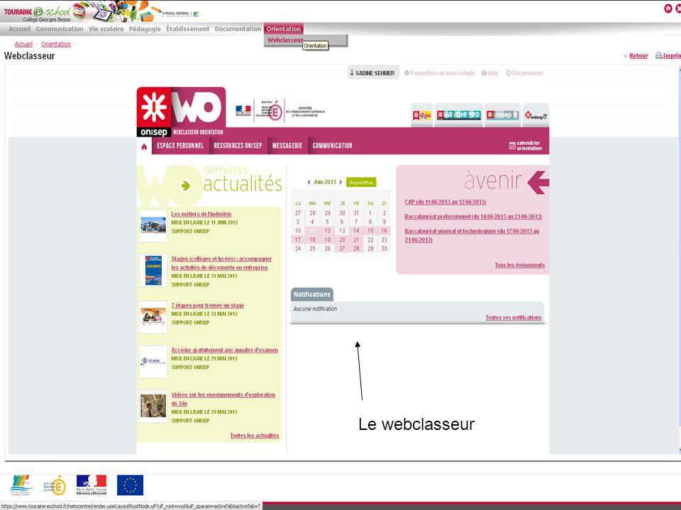 Le webclasseur