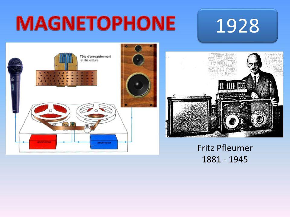 Fritz Pfleumer 1881 - 1945 1928