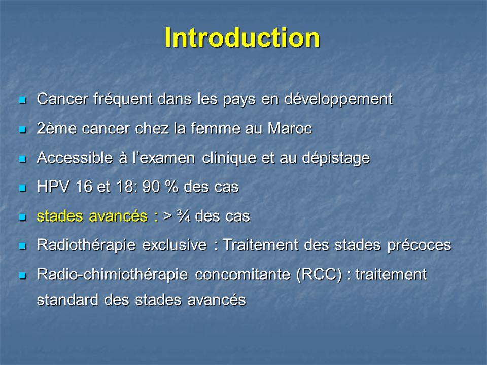 Cancer fréquent dans les pays en développement Cancer fréquent dans les pays en développement 2ème cancer chez la femme au Maroc 2ème cancer chez la f