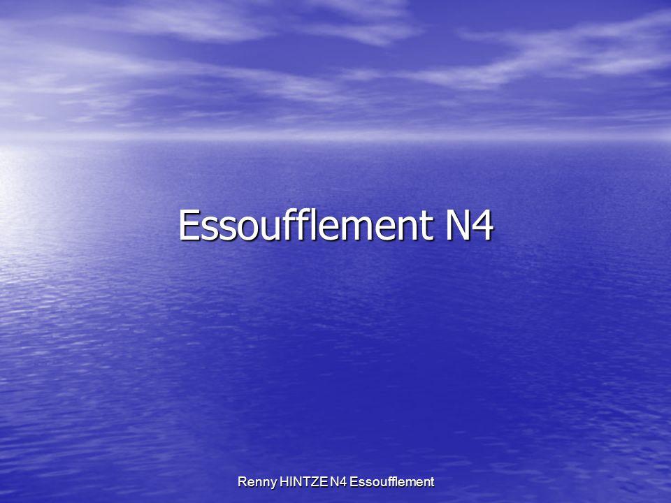 Renny HINTZE N4 Essoufflement Essoufflement N4