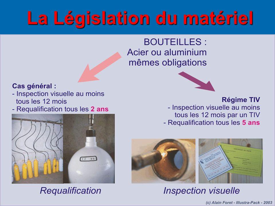 La Législation du matériel La Législation du matériel