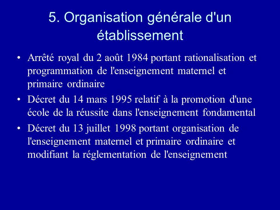 Des innovations –La formation « inter réseaux » –La lettre de mission –L'évaluation formative et le stage préalable à la nomination –Le passage plus aisé de la fonction de promotion à la fonction de recrutement ou de sélection antérieure –L'aide spécifique (financement)