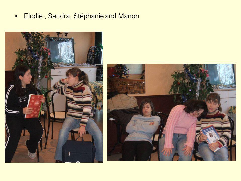 Elodie, Sandra, Stéphanie and Manon