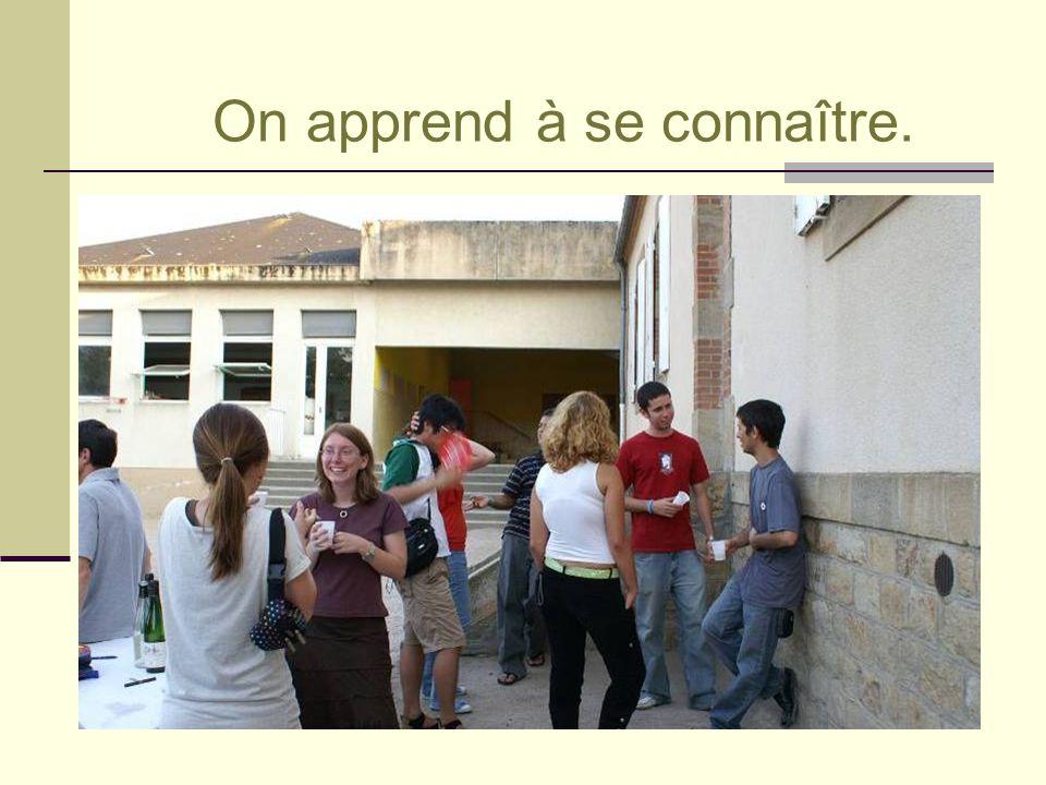 1 ère rencontre avec les jeunes de la Commune.
