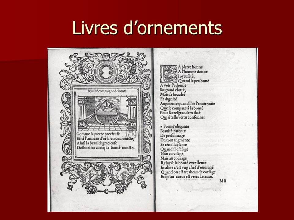 Livres d'emblèmes Alliance d'un texte (ou motto ou poème) avec une iconographie André Alciat, Emblematum libellus, Paris, Ch.