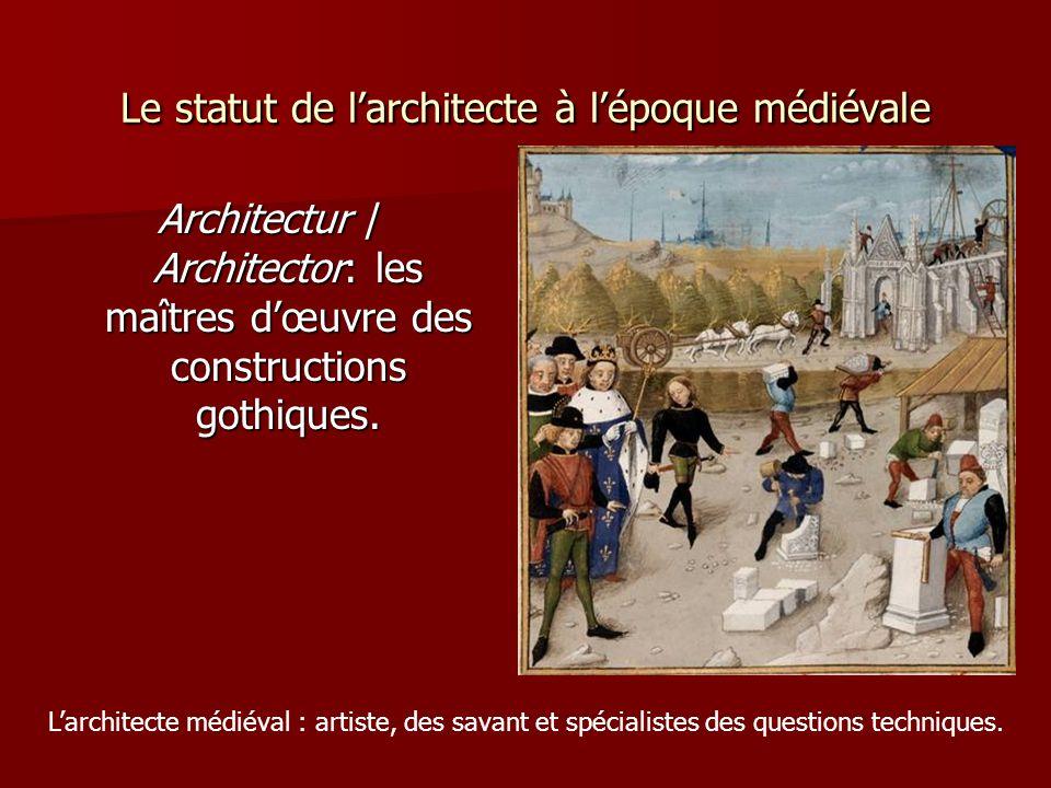 Le statut de l'architecte à l'époque médiévale Jean Colombe, Histoire de la destruction de Troyes, XVe siècle.