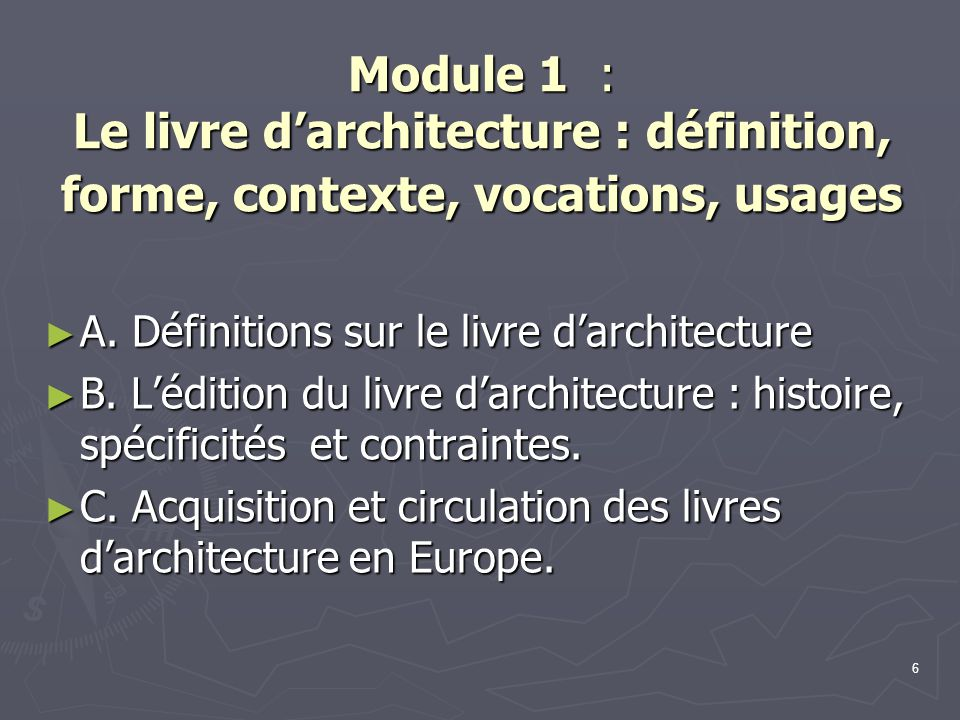 7 Module 2 : Une littérature sous influence Module 2 : Une littérature sous influence ► A.