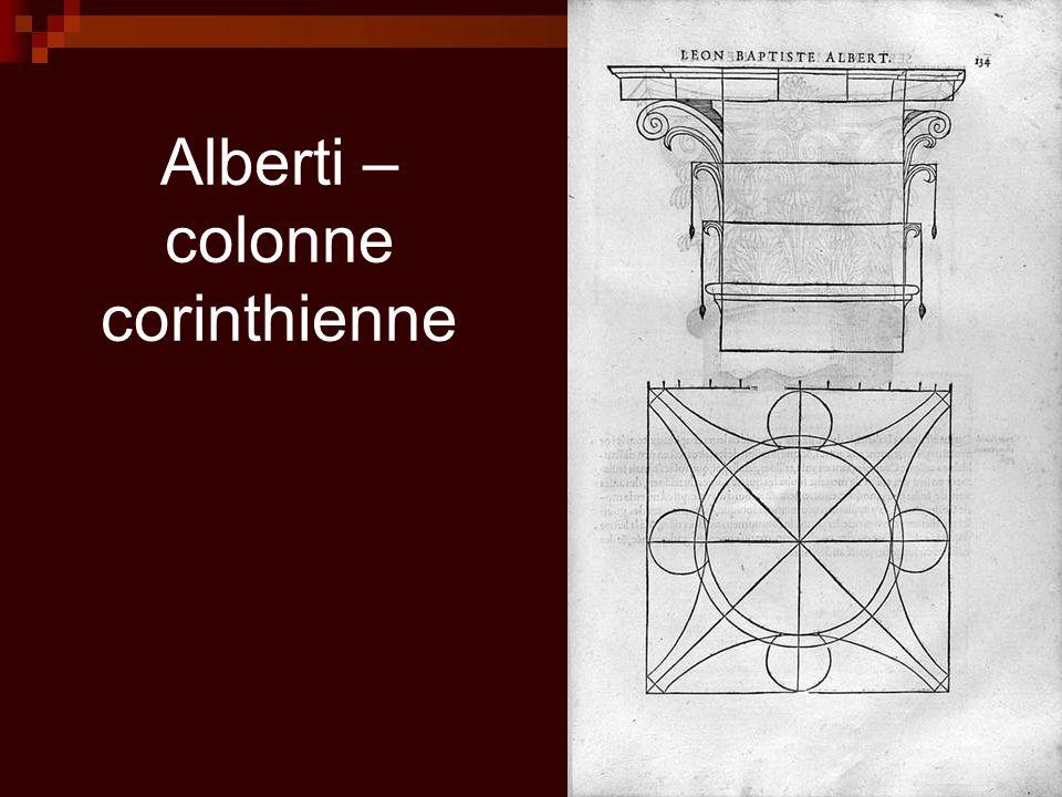 Alberti – colonne corinthienne
