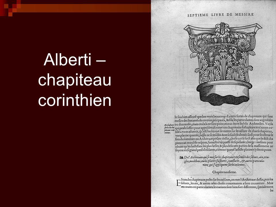 Alberti – chapiteau corinthien