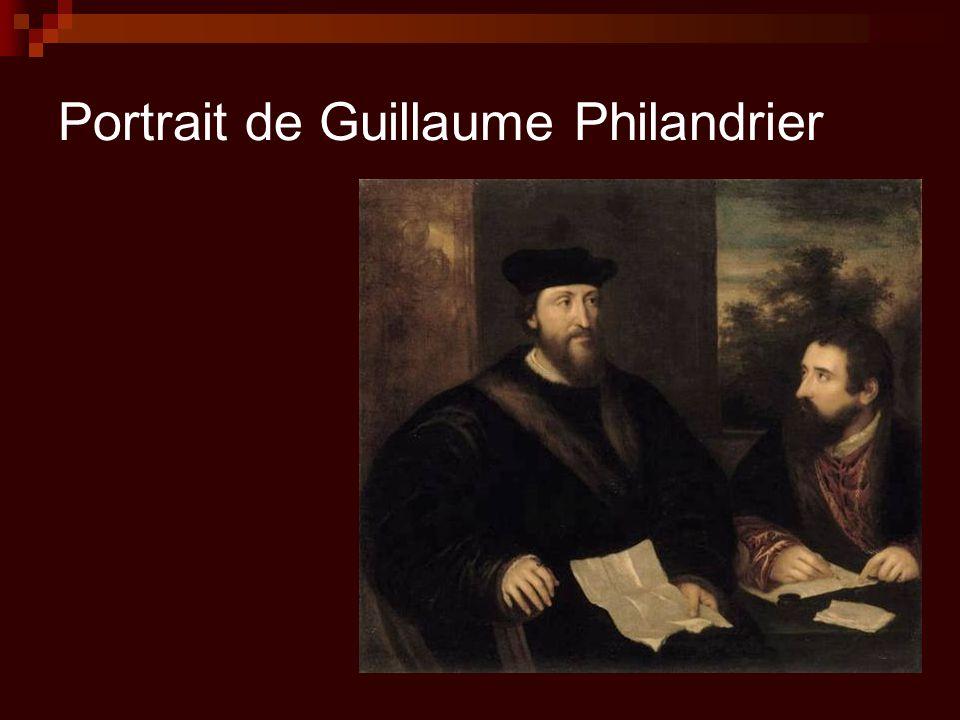 Portrait de Guillaume Philandrier