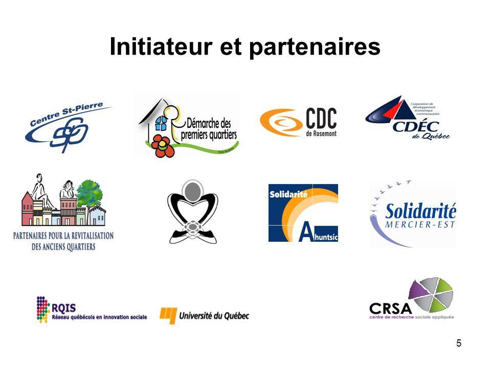 5 Initiateur et partenaires