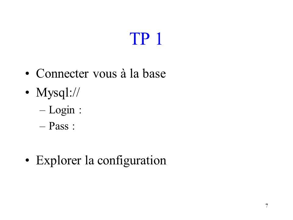 18 Sélectionner des enregistrements (I) Pour extraire de votre base de données des informations, comme la liste des personnes de votre carnet d'adresse qui vivent à Paris.